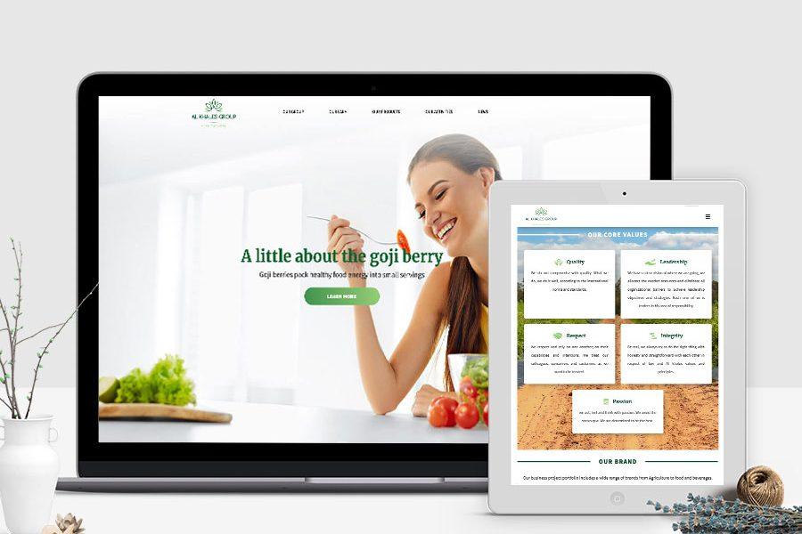 Site web Al Khales Group