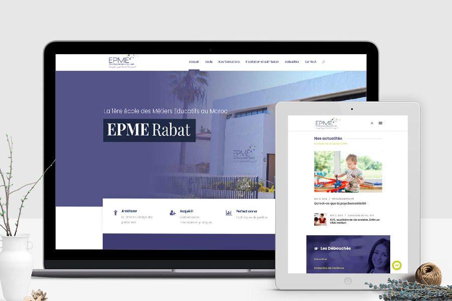 Site web EPME